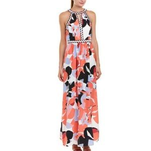 Parker Luella silk maxi dress